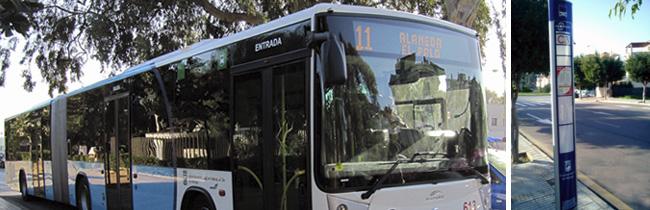 kaartje in de bus