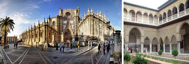 Sevilla catedraal alcazar